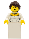 Minifig No: twn157  Name: Bride, Wedding Dress with Necklace