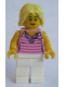 Minifig No: twn239  Name: Mom, Pink Striped Top