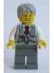 Minifig No: twn243  Name: Grandpa, Pinstripe Vest and Pocket Watch