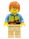Minifig No: twn245  Name: Dad, Sunset and Palm Trees Shirt