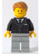 Minifig No: twn252a  Name: Bank Secretary - Suit with Pockets (10251 alternate)
