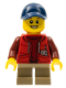 Minifig No: twn261  Name: Camper - Boy