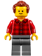 Minifig No: twn274  Name: Music Store Assistant