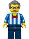 Minifig No: twn292  Name: Carousel Ticket Vendor