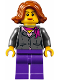 Minifig No: twn311  Name: Manager, Dark Purple Legs