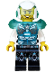Minifig No: uagt024  Name: Agent Jack Fury - Helmet and Shoulder Armor