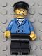 Minifig No: wc010  Name: Hovercraft Pilot, Blue Jacket, Black Hat (7045)