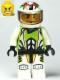Minifig No: wr022  Name: Team X-treme Daredevil 1 (REX-treme) - Standard Helmet