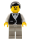 Minifig No: wtr003  Name: Town Vest Formal - Coachman