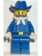 Minifig No: ww003  Name: Cavalry Lieutenant with Bandana