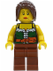 Minifig No: ww015  Name: Gold Prospector - Female (9349)