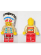 Minifig No: ww017a  Name: Indian Chief with LEGO Logo on Back
