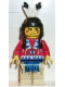 Minifig No: ww022  Name: Indian Red Shirt