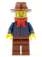 Minifig No: ww025  Name: Gold Prospector - Male (45023)