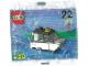 Original Box No: 1298  Name: Advent Calendar 1998, Classic Basic (Day 22) Police Boat