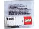 Original Box No: 1346  Name: Touch Sensors (4.5V)