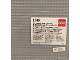 Original Box No: 1348  Name: Base Plates, Grey