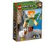 Original Box No: 21149  Name: Minecraft Alex BigFig with Chicken