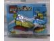 Original Box No: 2137  Name: Sabah Promotional Set: Swamp Boat polybag