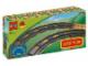 Original Box No: 2735  Name: Curved Rails (Dark Gray)
