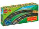 Original Box No: 2735  Name: Curved Track (Dark Bluish Gray)