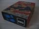 Original Box No: 281  Name: 1 x 2 and 3 x 2 Sloping Bricks, Blue