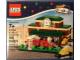 Original Box No: 40142  Name: Train Station - Bricktober 2015