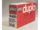 Original Box No: 508  Name: Duplo Kindergarten Set