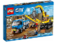 Original Box No: 60075  Name: Excavator and Truck