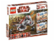 Original Box No: 66341  Name: Star Wars Super Pack 3 in 1 (8014, 8015, 8091)
