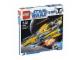 Original Box No: 7669  Name: Anakin's Jedi Starfighter, Clone Wars White Box
