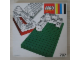 Original Box No: 797  Name: 2 large baseplates, gray/white
