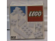 Original Box No: 802  Name: Extra Bricks White