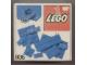 Original Box No: 806  Name: Extra Plates Blue