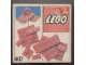 Original Box No: 807  Name: Extra Plates Red