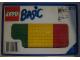 Original Box No: 814  Name: Baseplates, Green, Red and Yellow