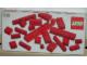 Original Box No: 830  Name: Red Bricks Parts Pack