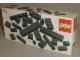 Original Box No: 831  Name: Black Bricks Parts Pack