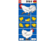 Part No: 1014chicken  Name: Paper, Duplo Mosaic Picture Puzzle Key Card from Set 1014 - Chicken