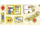 Part No: 137.1stk01  Name: Sticker for Set 137-1 - Sheet 1 (190255)