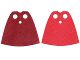 Part No: 19888pb01  Name: Minifigure, Cape Cloth, Standard with Dark Red and Red Sides - Spongy Stretchable Fabric