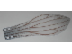 Part No: 21850  Name: Plastic Wing with Insect Wing Pattern