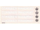 Part No: 315.2stk02  Name: Sticker for Set 315-2 - Sheet 2, 'CONTAINER TRANSPORT' and Anchors (004740)