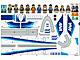 Part No: 3181.2stk01  Name: Sticker for Set 3181-2 - ANA Air
