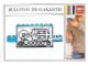 Part No: 3249Befr  Name: Paper, Guarantee Card for Motor 4.5V Type I 12 x 4 x 4 (3249-Be) - French, Bulletin de Garantie