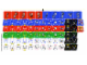 Part No: 3569stk01  Name: Sticker for Set 3569 - Sheet 1, Minifigure Torso and Scoreboard Numbers (54880/4286021)
