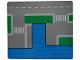 Part No: 364cdb01  Name: Paper, Cardboard Base for Set 364, Harbor Pattern