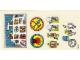 Part No: 3682stk01  Name: Sticker for Set 3682 - (192855)