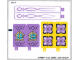 Part No: 41077stk01  Name: Sticker for Set 41077 - (21492/6116755)