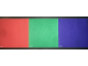 Part No: 4131324  Name: Camera Test Card - Red, Blue, and Green (Set 9731)